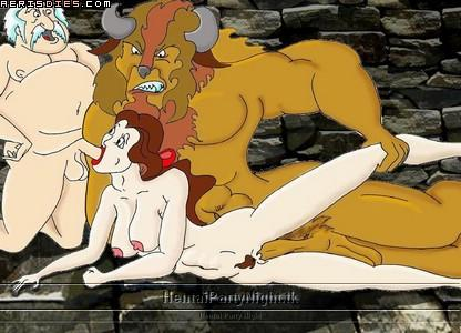 beauty the beast and angelique Sword art online yuuki naked