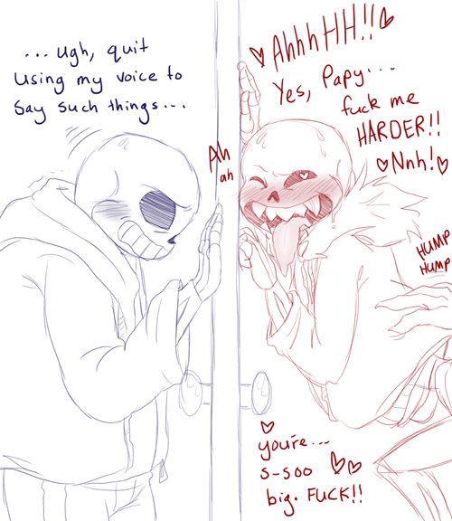sans and undertale papyrus frisk Miss caretaker of sunohara sou characters