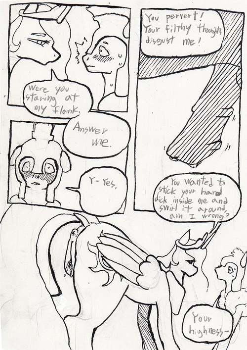 little my pony guards royal God of war the witch