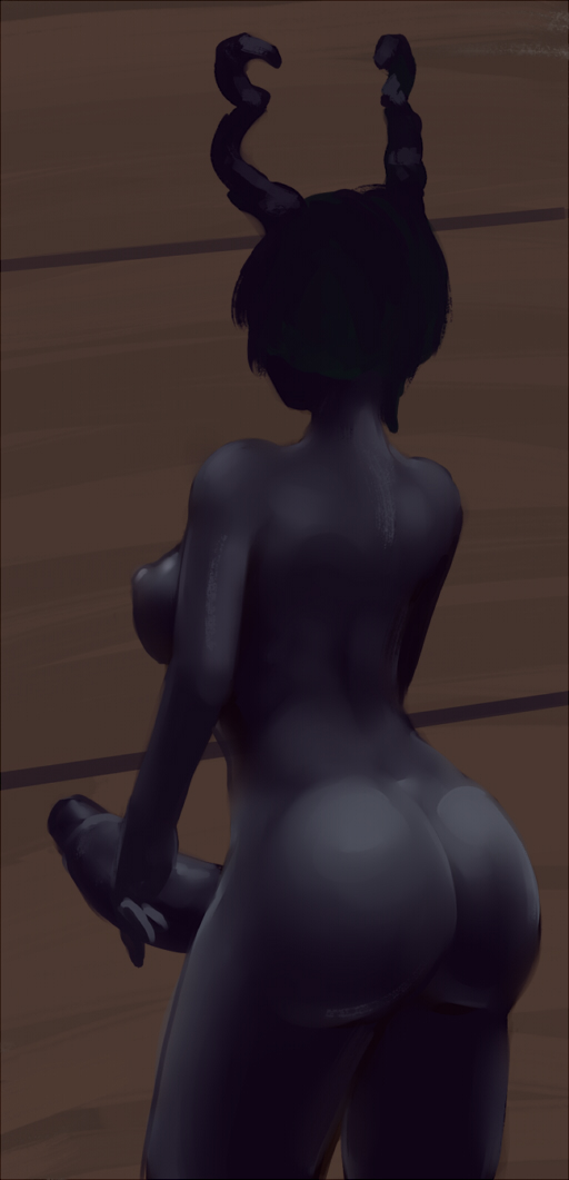 of duke maid black and the his death Hentai games parasite in city
