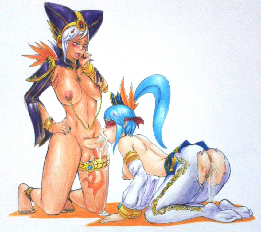 legend the blue of wolves the Seven deadly sins futa hentai