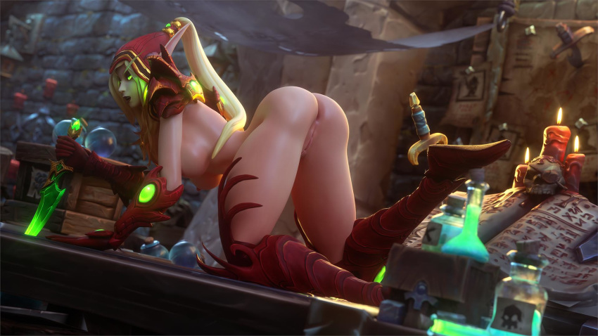 warcraft world porn elf blood of Wasp avengers earth's mightiest heroes