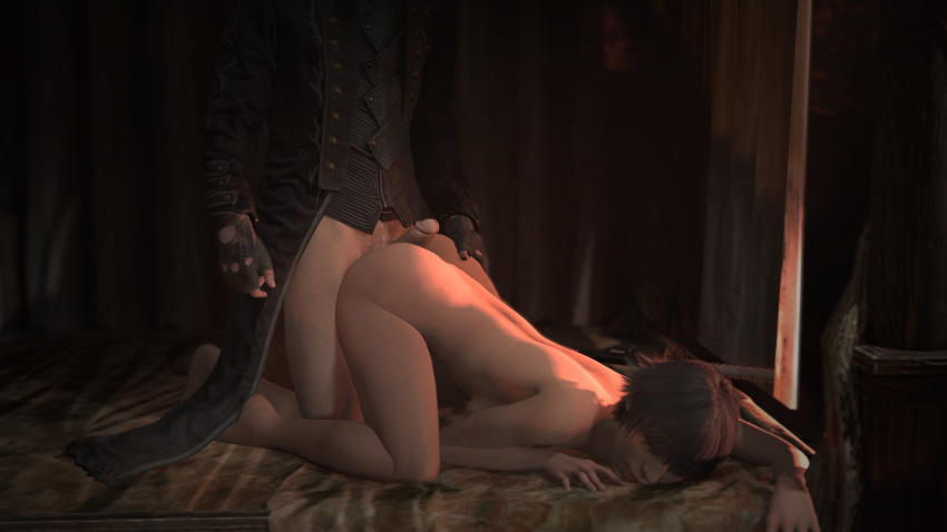 nude lady 5 cry may devil Mass effect 3 traynor shower