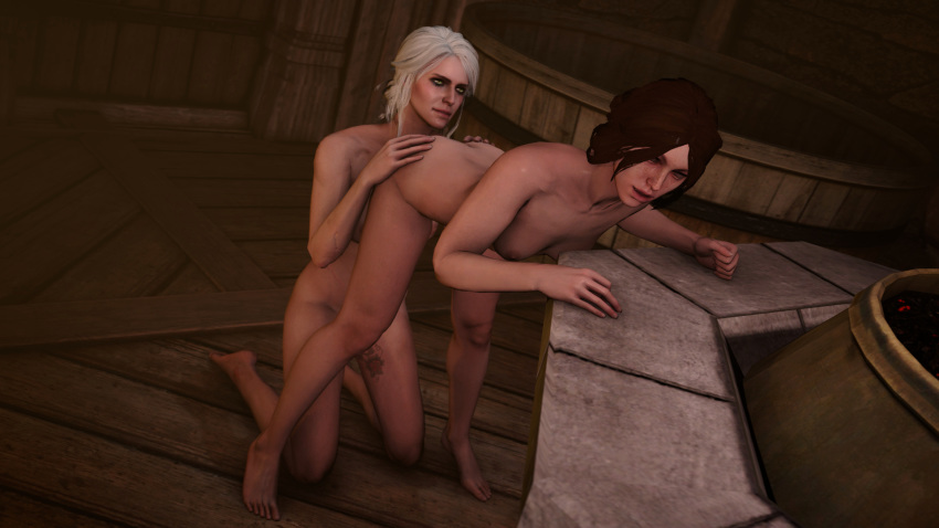 ciri 3 witcher sex the The furies god of war